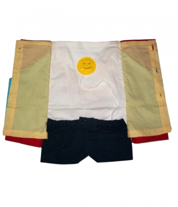 Demonstrating the activity apron