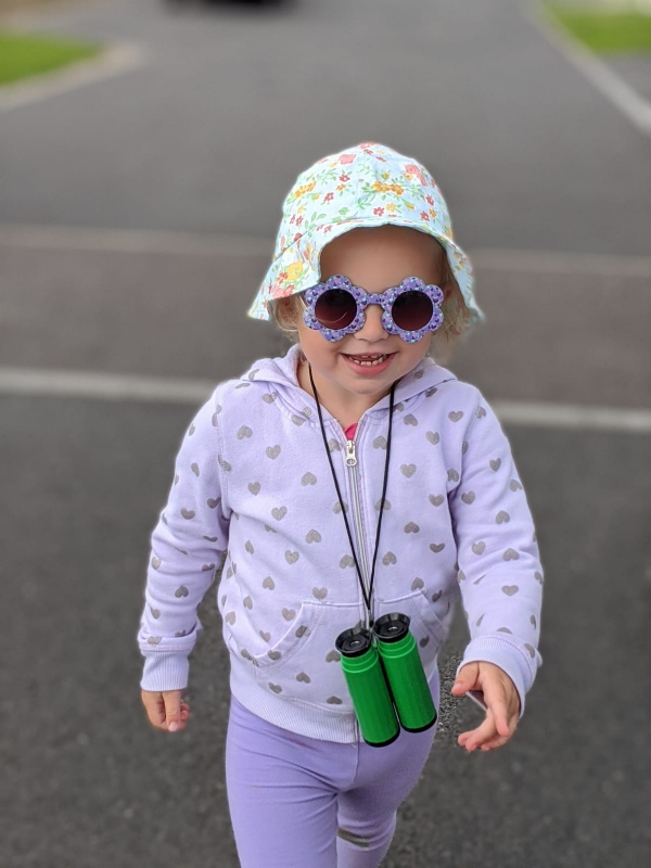 binoculars - an essential accessory