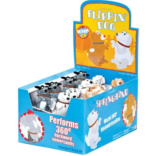 Box of flipping dogs