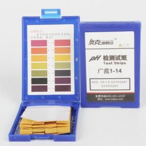 pH testing strips